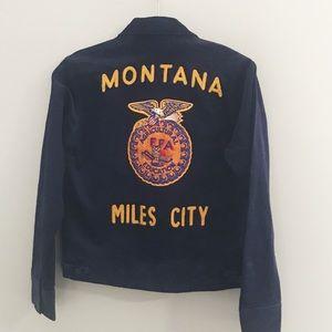Vintage Montana FFA Corduroy Jacket